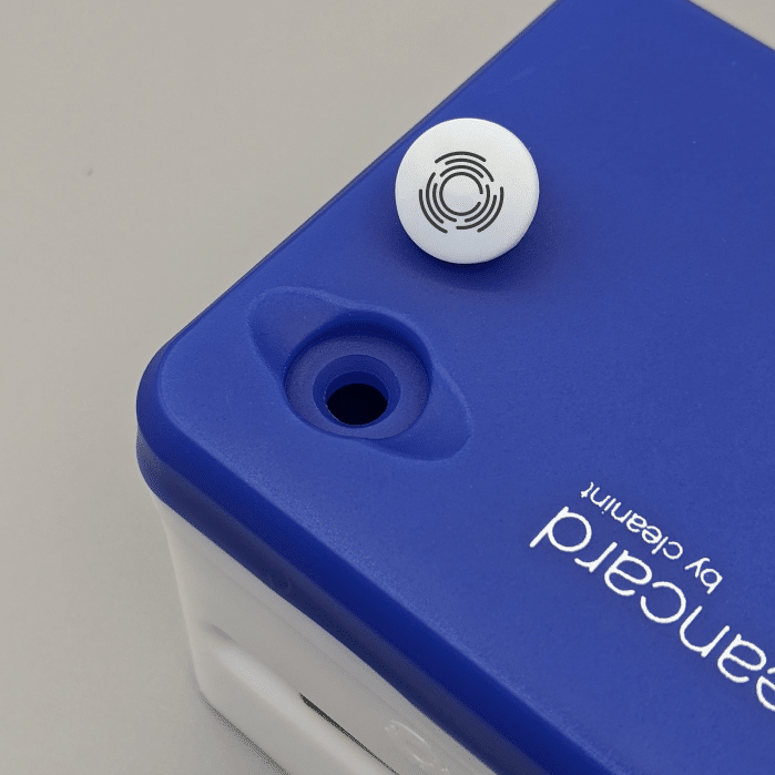Cleancard Open Plug Closeup